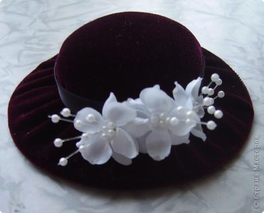 Игольница в виде шляпки своими руками
