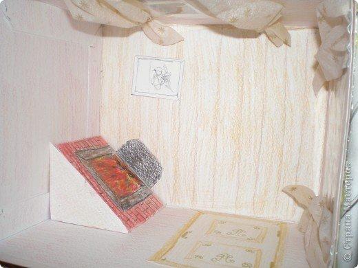 """Проект Макет: Наш макет """"Рождественское утро"""". На выставку. Бумага Рождество. Фото 3"""