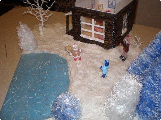 """Проект Макет: Наш макет """"Рождественское утро"""". На выставку. Бумага Рождество. Фото 14"""