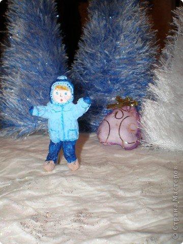 """Проект Макет: Наш макет """"Рождественское утро"""". На выставку. Бумага Рождество. Фото 17"""