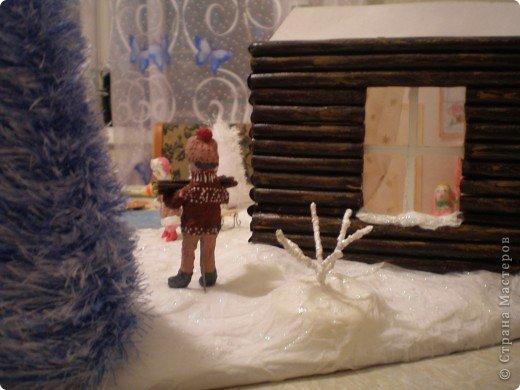 """Проект Макет: Наш макет """"Рождественское утро"""". На выставку. Бумага Рождество. Фото 19"""