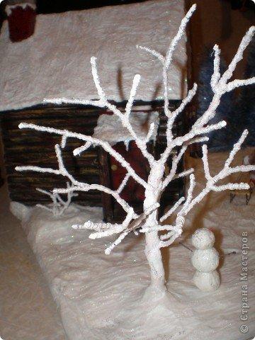 """Проект Макет: Наш макет """"Рождественское утро"""". На выставку. Бумага Рождество. Фото 20"""