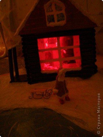 """Проект Макет: Наш макет """"Рождественское утро"""". На выставку. Бумага Рождество. Фото 27"""
