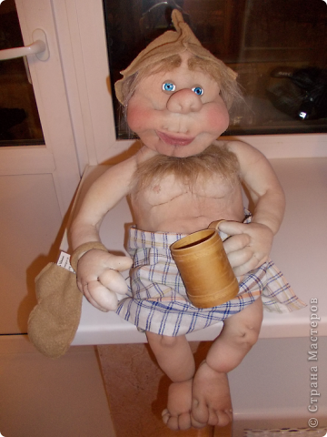 Куклы Шитьё: Банщик № 3 Капрон. Фото 2