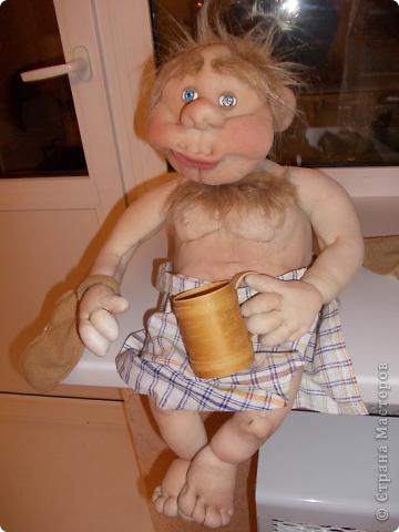Куклы Шитьё: Банщик № 3 Капрон. Фото 1