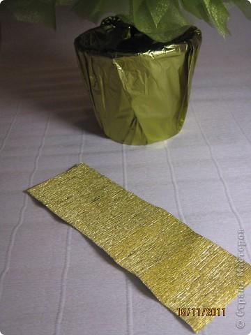 Мастер-класс, Свит-дизайн: МК елочки из конфет Новый год. Фото 27