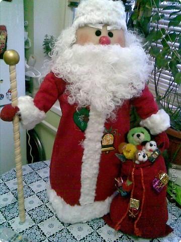 Дед мороз большой своими руками фото - Vento-divino.ru