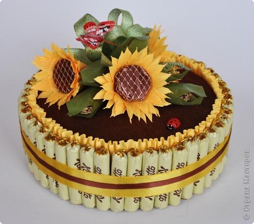 Свит-дизайн: Конфетные торты 8 марта, День рождения, Новый год. Фото 1