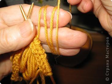 Мастер-класс Вязание: МК по созданию волос для кукол Нитки Дебют. Фото 6
