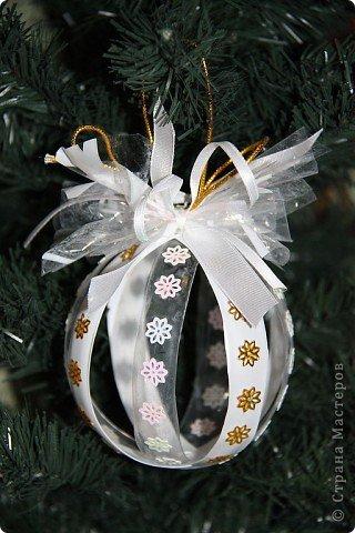 Master Class Designer: bolas de Natal fora de garrafas de plástico, garrafas de plástico, o Ano Novo.  Foto 3