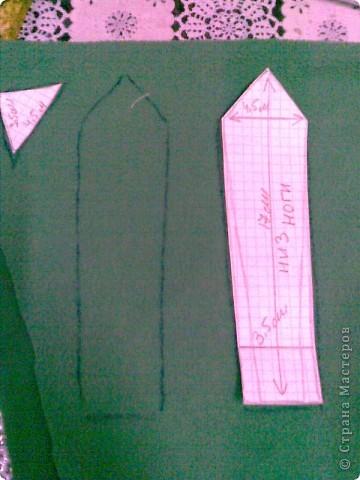Мастер-класс Шитьё: Кузнечик Кузя и МК Ткань Новый год. Фото 8