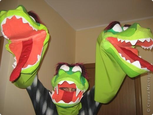 Маска змея горыныча своими руками