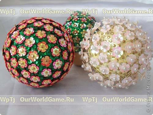 Новогодние шары своими руками: фото, мастер классы