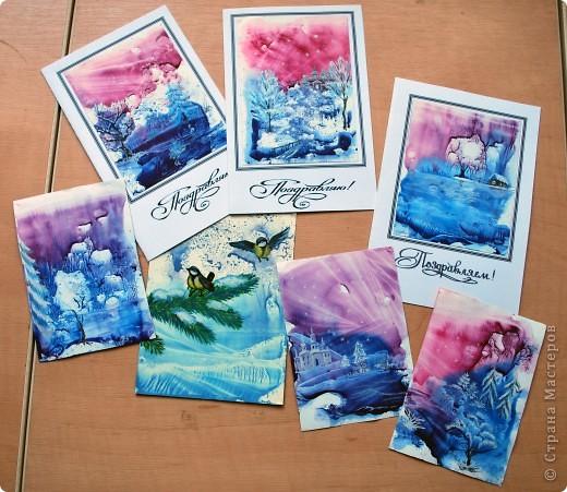 Креативные открытки своими руками к новому году