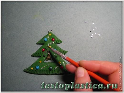 Мастер-класс Лепка: Новогодние игрушки из соленого теста Тесто соленое Новый год. Фото 8