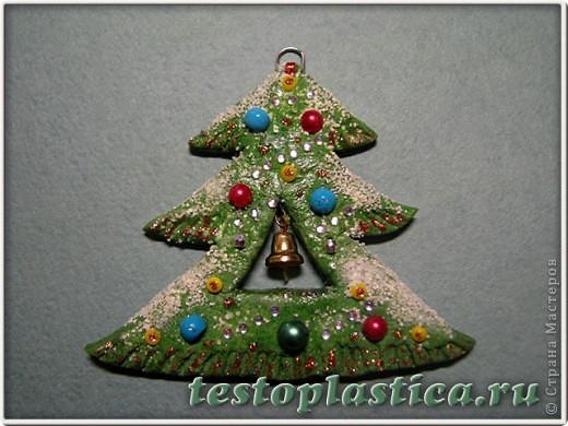Мастер-класс Лепка: Новогодние игрушки из соленого теста Тесто соленое Новый год. Фото 9