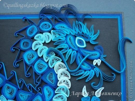 Картина, панно, Сказка Квиллинг: Летим в Китай!!!!! Бумажные полосы Новый год. Фото 4