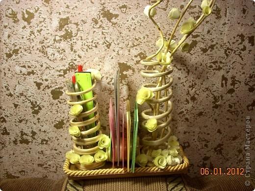 Мастер-класс, Поделка, изделие Моделирование: Органайзер из веток ивы. Дерево, Материал природный. Фото 1
