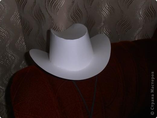 Выкройки кавбойской шляпы из кожи