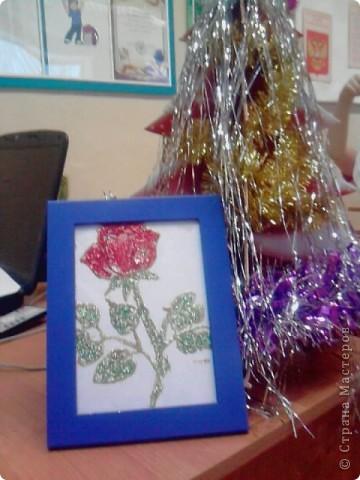 Мастер-класс Витраж: Витражная роза Стекло. Фото 6