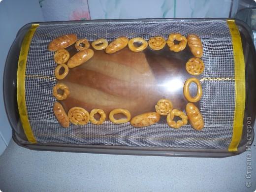 Хлебница своими руками из пластика