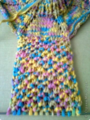 Вязаное спицами