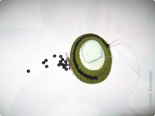 Мастер-класс, Украшение Валяние (фильцевание): МК. по кулонам, как и обещала Шерсть. Фото 17