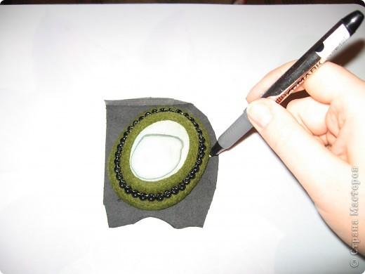 Мастер-класс, Украшение Валяние (фильцевание): МК. по кулонам, как и обещала Шерсть. Фото 19