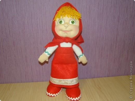 Куклы Шитьё: Маша Ткань Отдых. Фото 1