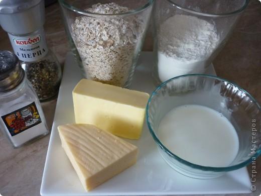 Кулинария, Мастер-класс Рецепт кулинарный: Овсяные палочки с сыром за 20 минут. Продукты пищевые. Фото 2