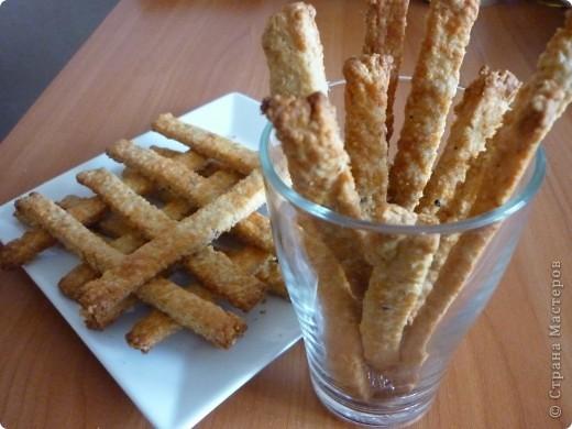 Кулинария, Мастер-класс Рецепт кулинарный: Овсяные палочки с сыром за 20 минут. Продукты пищевые. Фото 1