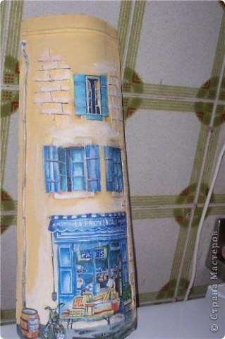 Мастер-класс Декупаж: Волшебный домик Бумага. Фото 1