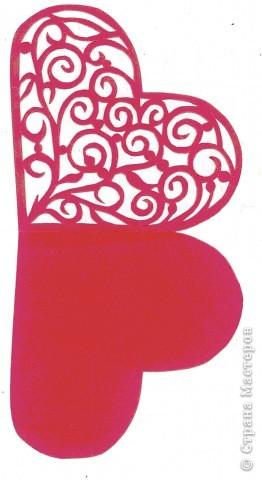 Открытка Вырезание, Квиллинг, Торцевание: Валентины...валентинки...валентиночки... Бисер, Бумага, Бумага гофрированная, Бумажные полосы, Бусинки 8 марта, Валентинов день, День рождения. Фото 25
