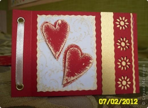 Открытка Вырезание, Квиллинг, Торцевание: Валентины...валентинки...валентиночки... Бисер, Бумага, Бумага гофрированная, Бумажные полосы, Бусинки 8 марта, Валентинов день, День рождения. Фото 13