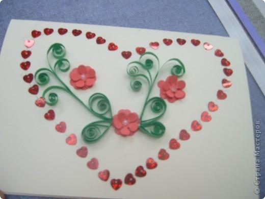 Открытка, Педагогический опыт Квиллинг: Открытые сердца детей  Бумага Валентинов день. Фото 13