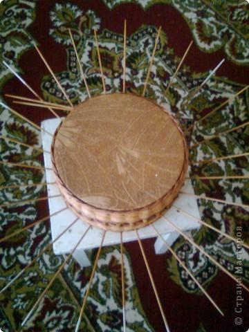 Мастер-класс Плетение: мк крышки для плетенки Бумага газетная Дебют. Фото 6