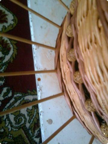 Мастер-класс Плетение: мк крышки для плетенки Бумага газетная Дебют. Фото 7