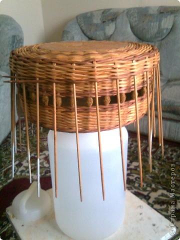 Мастер-класс Плетение: мк крышки для плетенки Бумага газетная Дебют. Фото 11