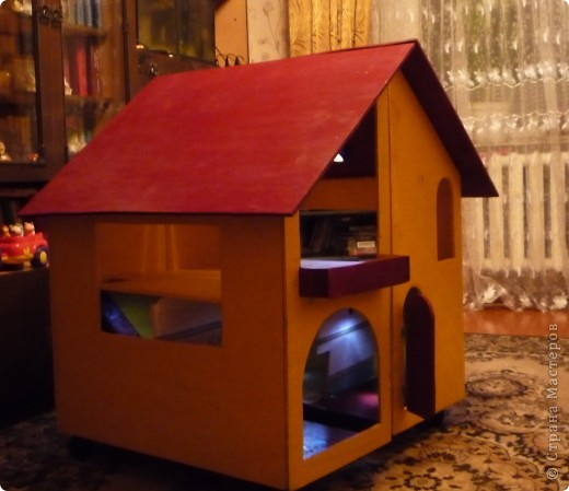 Дом своими руками из фанеры