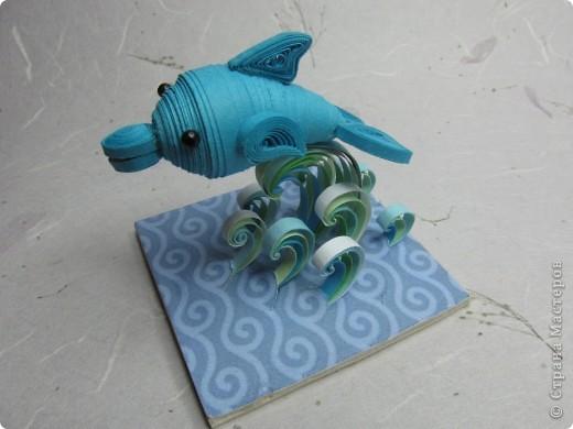 Дельфин сделать своими руками