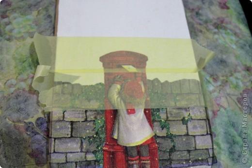 Декор предметов, Мастер-класс Декупаж: как соединить 2 салфетки м\к Салфетки Новый год. Фото 3