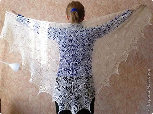 Гардероб Вязание спицами: Шалемания - продолжение Шерсть. Фото 9