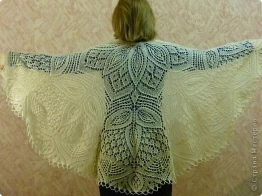 Гардероб Вязание спицами: Шалемания - продолжение Шерсть. Фото 3