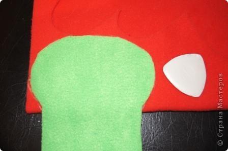 Игрушка, Мастер-класс Шитьё: Лягушка на руку + МК. Ткань. Фото 5