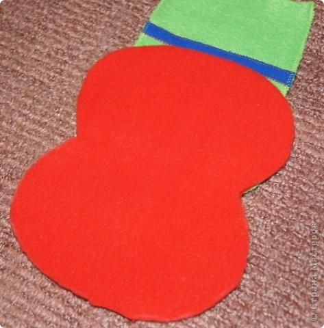 Игрушка, Мастер-класс Шитьё: Лягушка на руку + МК. Ткань. Фото 12