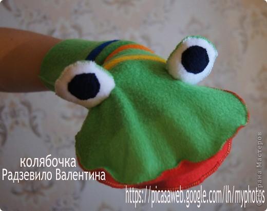 Лягушка на руку + МК.