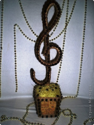 Поделка, изделие: Музыкальный кофе Шпагат. Фото 1