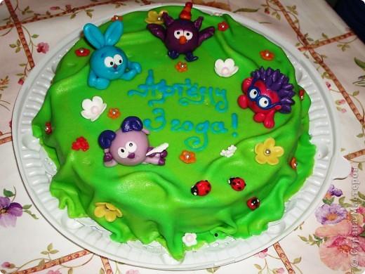Детские торты на день рождения фото рецепт