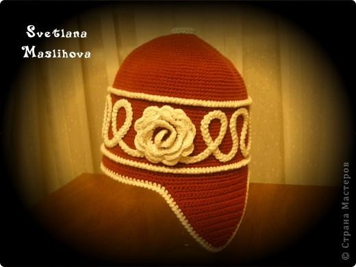 Гардероб Вязание крючком: Шапка и шарф. Пряжа. Фото 2