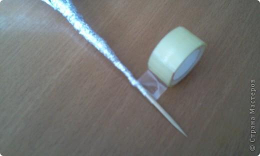 Мастер-класс Плетение: МК лилии из фольги Фольга. Фото 29